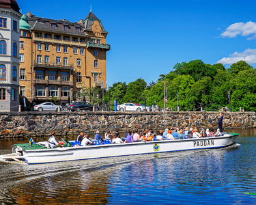Goteborg excursions on boat