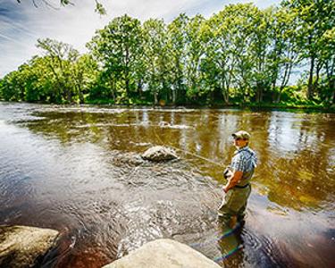 Швеция Рыбалка Блекинге
