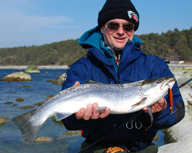 Швеция Рыбалка готланд