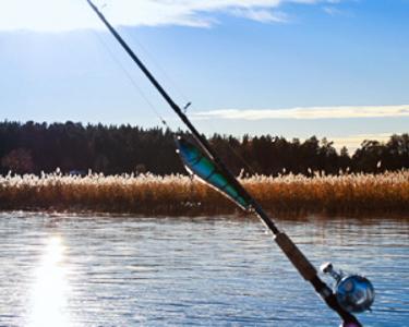 Швеция рыбалка оре
